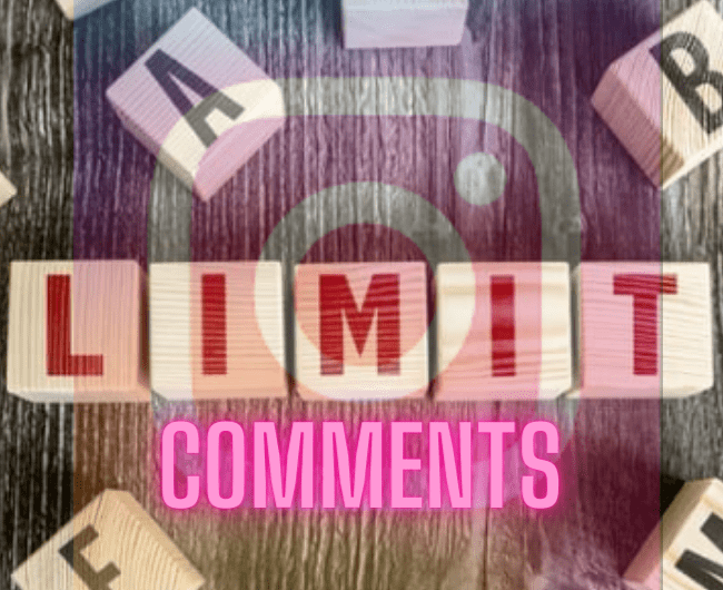 How to Restrict Comments on Instagram Post