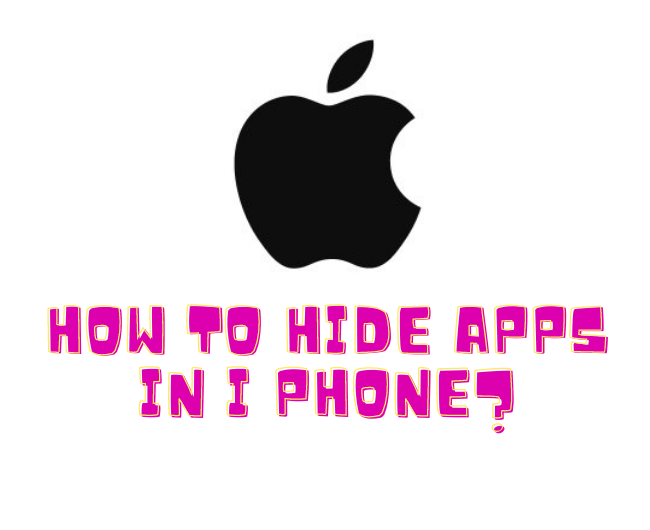 How to Hide Apps on iOS devices