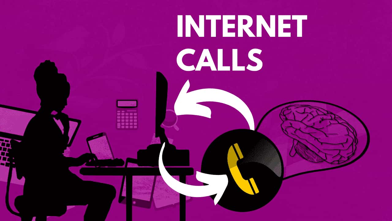 How to make a call over the Internet