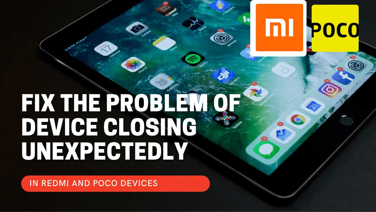 Here's Solution for Device Restarting unexpectedly on Redmi;