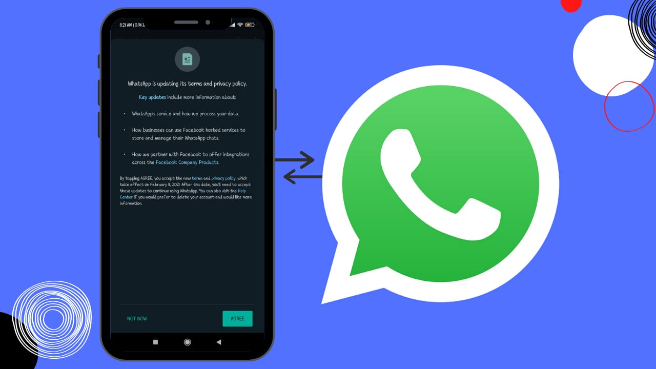 Make Reappear the New Privacy Policy of WhatsApp ;