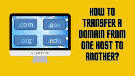 How to Transfer a Domain from One Host to Another?